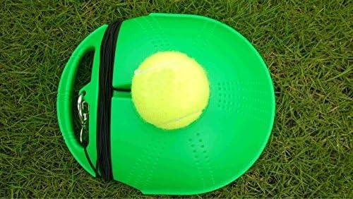 grofitness tenis formación máquina de rebote pelota de tenis para ...