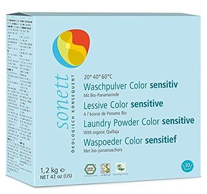 Soneto Detergente en Polvo (Color Sensible: con bio de biológico puro Panama corteza y