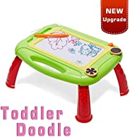 LODBY Toddler Toys for Age 1-4 Year Old Girls/Boys Gifts - Toddler Magnetic Doodle Drawing Board for Kids