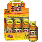 Jackpot Energy Shots |VERY BERRY | CHANCE TO WIN PRIZES Jackpot Energy Beverages, Extreme Caffeine Shots |2 ounce (Pack of 6)