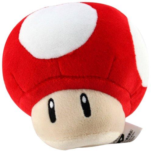 Banpresto Official Nintendo Mario Kart Plush Red Mushroom