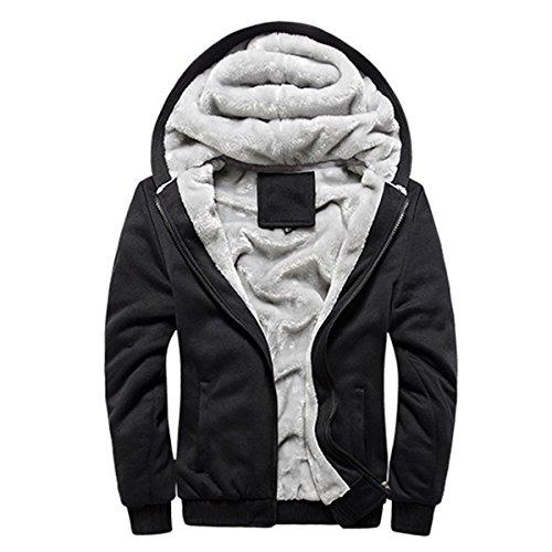 Zip Fleece Hoody Jacket - 8