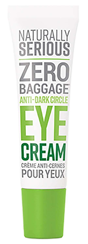 Naturally Serious - Zero Baggage Anti-Dark Circle Eye Cream | Clean Skincare, Vegan, Cruelty-Free (.67 fl oz | 20 ml)