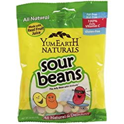Yumearth Sour Jelly Beans, 2.5-Ounce (Pack of 12)