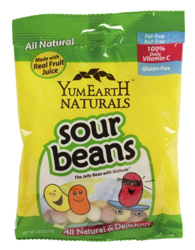yumearth sour jelly beans - 5