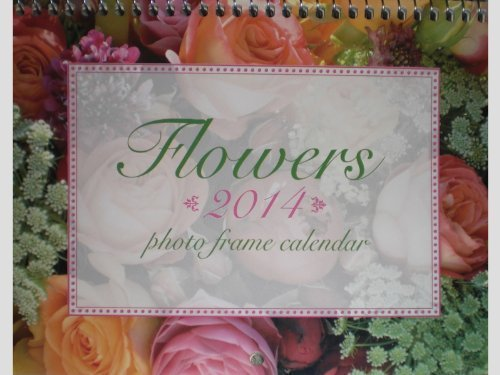 2014 Flowers / Floral Photo Frame Mini Wall Calendar by Studio 18 ()