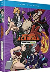 Class 1 A is fired up to earn hero licenses after All Might's epic battle with All For One. Once they're official, Deku and his friends can finally join the pros in the field. But first, they must pass a brutal exam that's brimming with schoo...