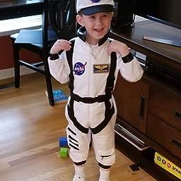 Bad Bear Brand Kids Astronaut Flight Suit Commander Child Boys /& Girls Costume