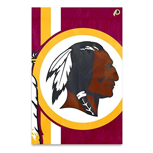 (Party Animal Washington Redskins Bold Logo Banner NFL Flag)