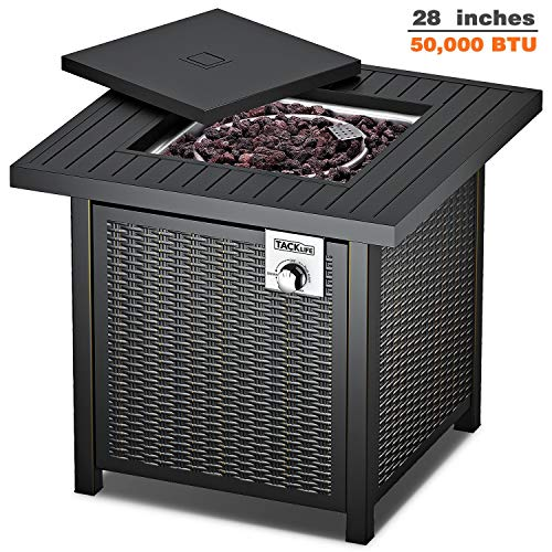 TACKLIFE Gas Fire Table