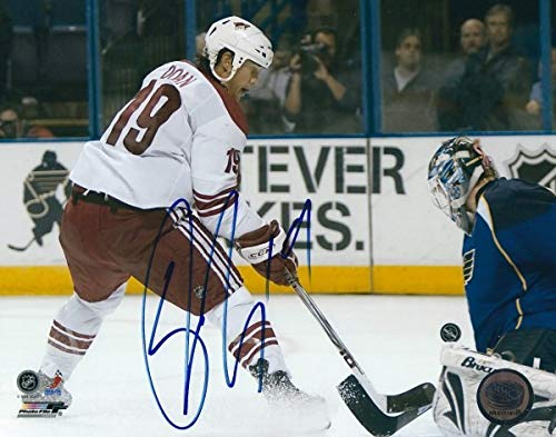 - Autographed Signed Shane Doan Phoenix Coyotes 8x10 Photo - Certified Authentic