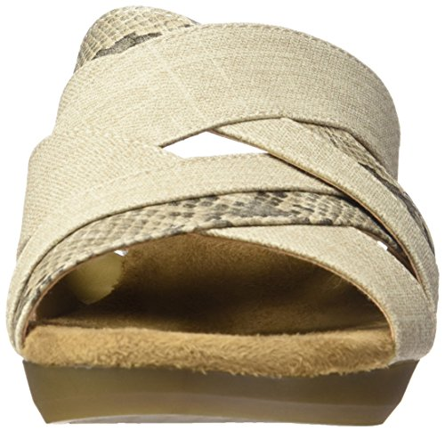 Aerosoles by Power Wedge Sandal Flower Beige Combo Women A2 z5wIBdqz