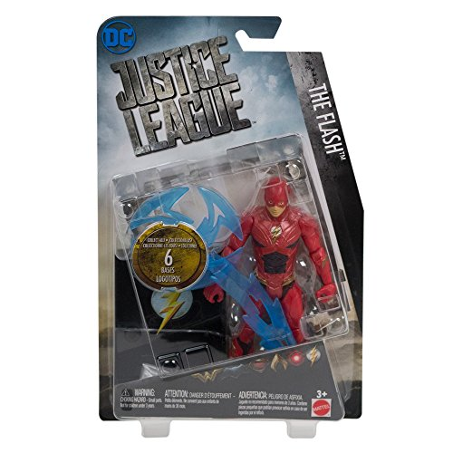 DC Comics Justice League The Flash Action Figure, 6'' Action
