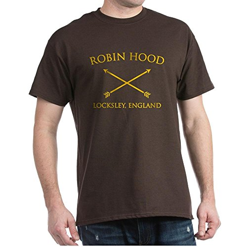 CafePress Robin Hood Dark T Shirt 100% Cotton T-Shirt - Clothing Locksley