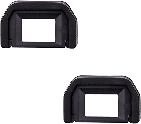 WHITE Camera Eyecup For Canon EOS SLR 1100D or 200D 100D T3 SL1 SL2 EC-1 EF