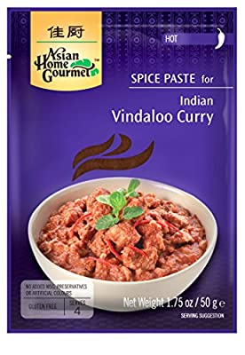 Asian Home Gourmet: Indian Vindaloo Curry 1.75 oz (Pack of 12)