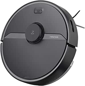 Roborock S6 Pure Robot Vacuum and Mop, Multi-Floor Mapping, Lidar Navigation, No-go Zones, Selective Room Cleaning, Super Strong Suction, Wi-Fi Connected, Alexa Voice Control