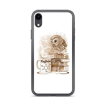Amazon.com: Compatible for iPhone X/XS Coffee Obsession Owl ...
