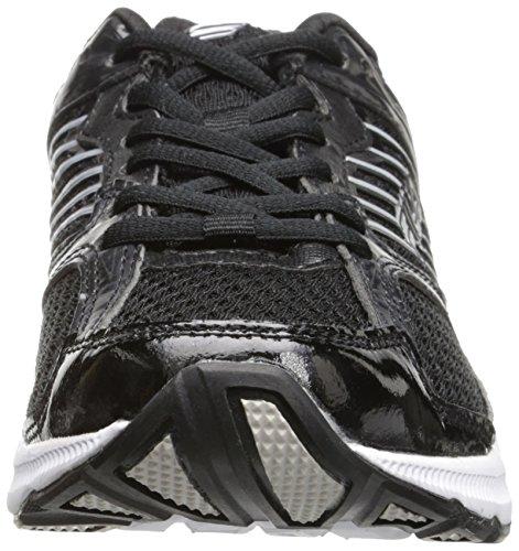 Chaussure De Course Interstellaire 2 Fila Mens Noir / Blanc / Argent Métallisé