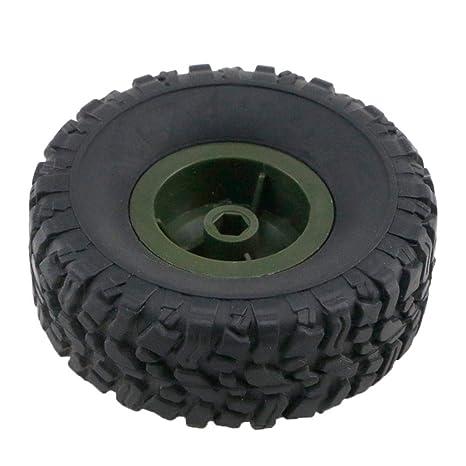 Riosupply Herramienta de la Rueda para JJRC Q60 Q61 Rueda de Coche de Juguete Neumático de