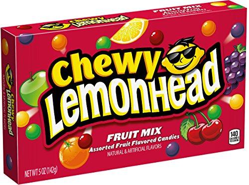 Lemonhead Chewy Lemonhead Mix, Assorted Fruit Flavors, 5 Ounces