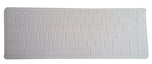 Saco Chiclet Keyboard Skin for Dell Vostro V131   Transparent Keyboard   Mice Accessories