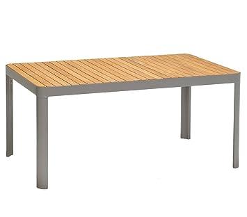Dehner Table de Jardin Bergen, env. 161 x 95 x 75 cm, Bois ...