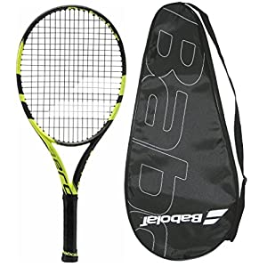 2018 Babolat Pure Aero Junior 25 Strung with Cover (4 0/8)