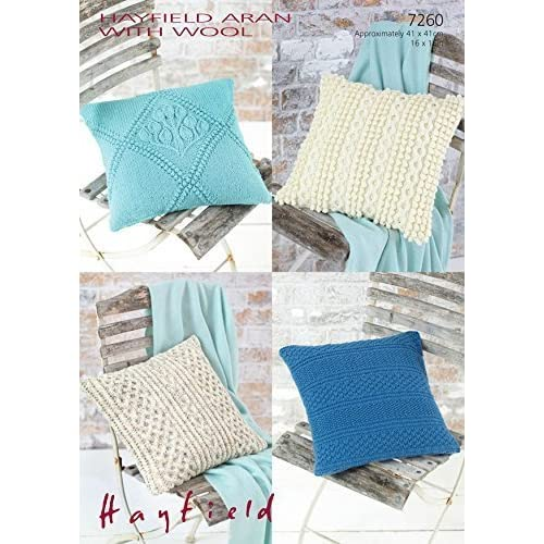 Knitting Patterns For Cushions Amazon