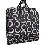WallyBags 52 Inch Fashion Garment Bag with Pockets, Graphite, One Size, Bags Central