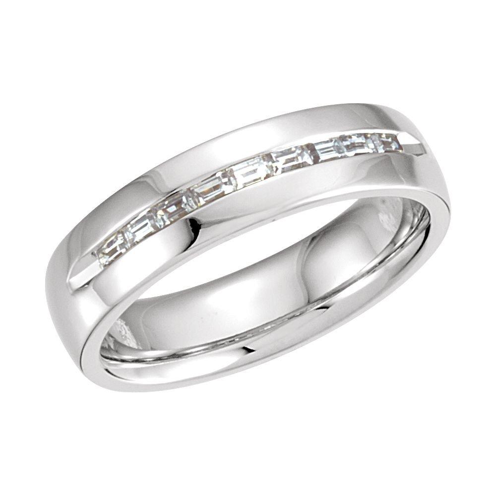 White-gold 3/8 Ctw Diamond Wedding Band