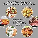 Elite Gourmet ETO-4510M Double French Door