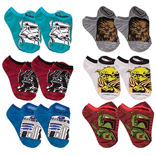 Star Wars 12 Pairs of Boys Low Cut No Show Socks Set for sale  Delivered anywhere in USA