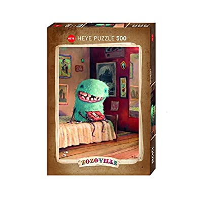 Heye 58080 Puzzle Classic Zozoville Milk Tooth 500 Pezzi