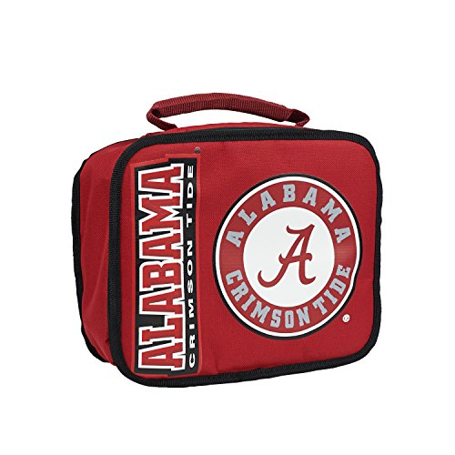 Officially Licensed NCAA Alabama Crimson Tide Sacked Lunch Cooler, Alabama Crimson Tide Red