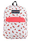 JanSport Superbreak Backpack for Girls School Backpack Watermelon Rain Deal