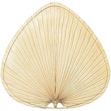 Fanimation ISP1 22-Inch Wide Oval Natural Palm Leaf Ceiling Fan Blade, Set of 5