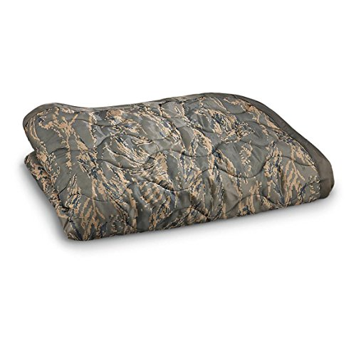 (Military Style Poncho Liner Blanket - Woobie (ABU Tiger Stripe))