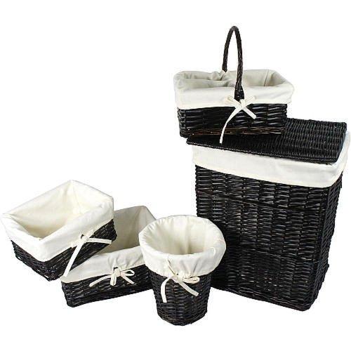 Koala Baby 5-Piece Basket Set - Espresso