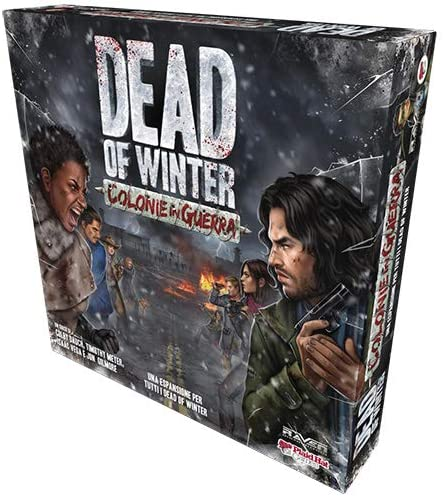 Raven – Dead of Winter-Colonie in Guerra, Juego de mesa en italiano color estándar, RDCR003: Amazon.es: Juguetes y juegos