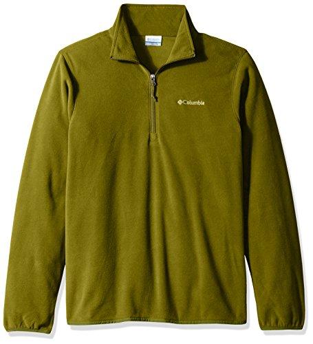 Columbia Men's Ridge Repeat Half Zip Fleece Jacket, X-Large, Mossy Green