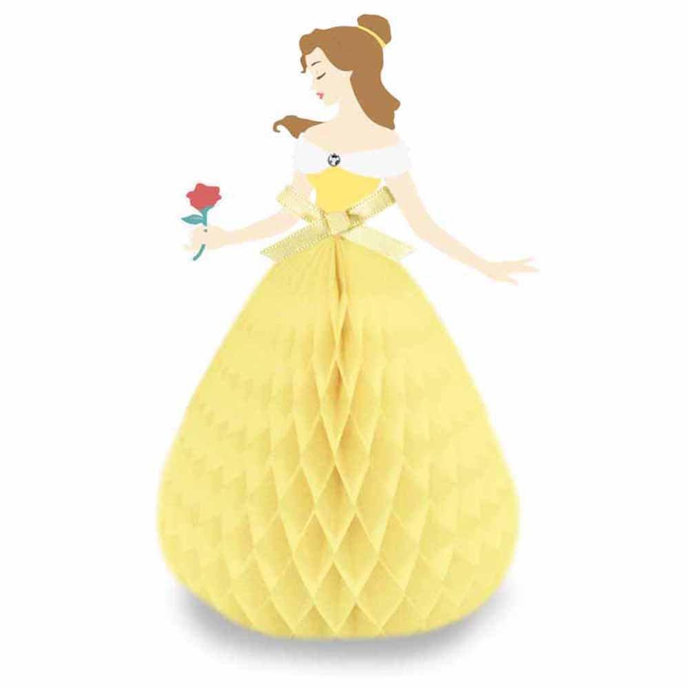 Amazon.com: Disney Princess Belle Honeycomb Pop Up Greeting Card ...