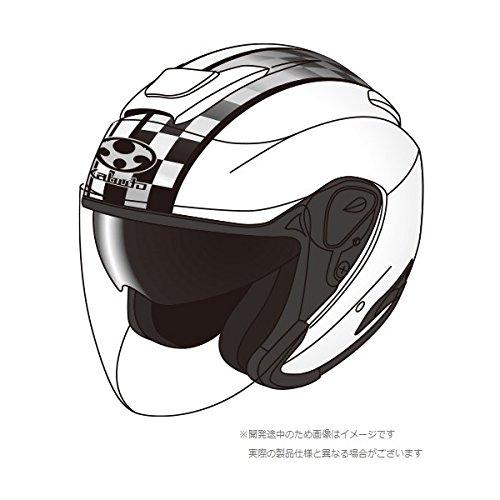 オージーケーカブト(OGK KABUTO)バイクヘルメット ジェット ASAGI SPEED (スピード) ホワイト (サイズ:M)