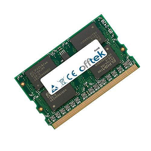 1GB RAM Memory 172 Pin MicroDimm - 1.8V - DDR2 - PC2-4200 (533Mhz) - OFFTEK