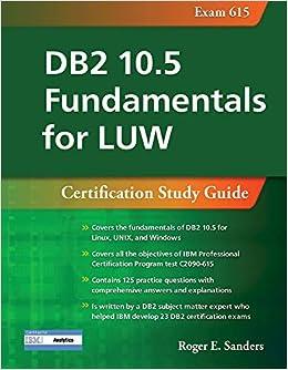 db2 luw 10.5