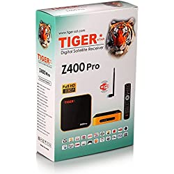 HPPFOTRS TIGER STAR Z400 PRO Arabic IPTV Box, Over 1200+ HD Channels with WiFi, All Arabic TV Channels, Free 2 Years Subscription