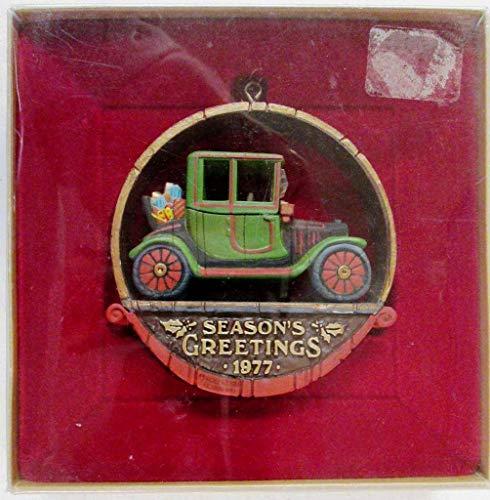 Antique Car Nostalgia Collection 1977 hallmark ornament