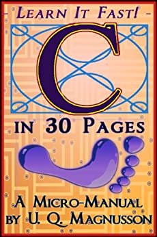 C in 30 Pages by [Magnusson, U.Q.]
