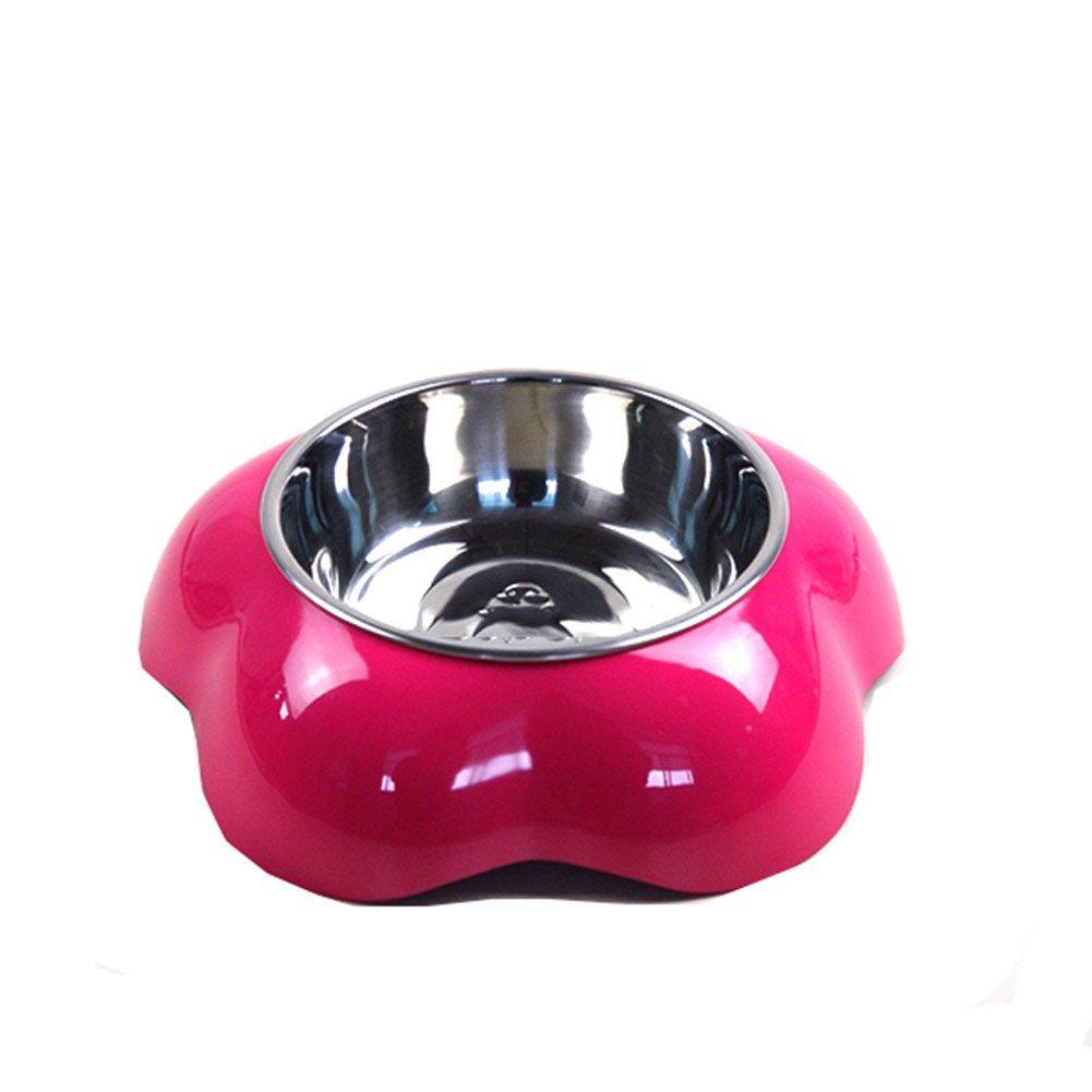 C Pet Pet Bowl Stainless Steel Dog Bowl Dog Pot Cat Food Bowl Cat Bowl, C