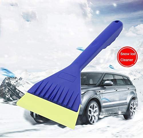 TECUUL ゴム製アイススクレーパー 雪かき除去ショベル